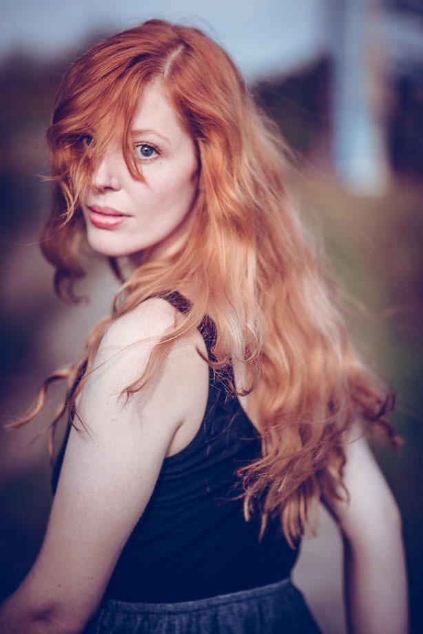 Photo Redhead female portrait rote Haare